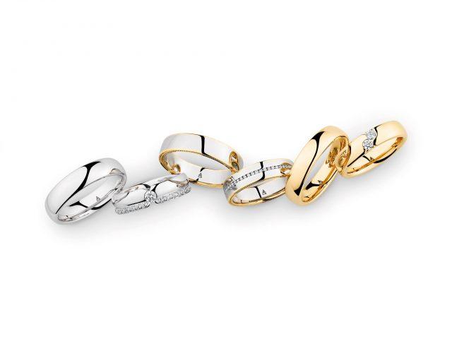 Enkel Zilveren Trouwringen (Rings & Suits)
